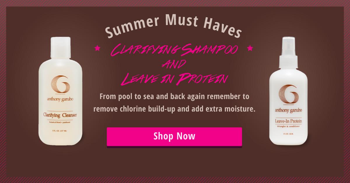 Summer shampoo slider